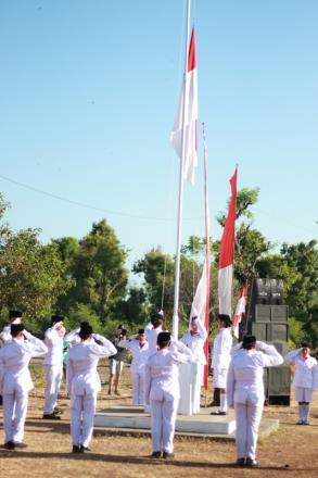 UPACARA DETIK-DETIK PROKLAMASI KEMERDEKAAN REPUBLIK INDONESIA KE-74 TAHUN