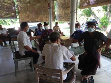 Vaksinansi Bagi Para Pelaku Pariwisata Desa Pemuteran